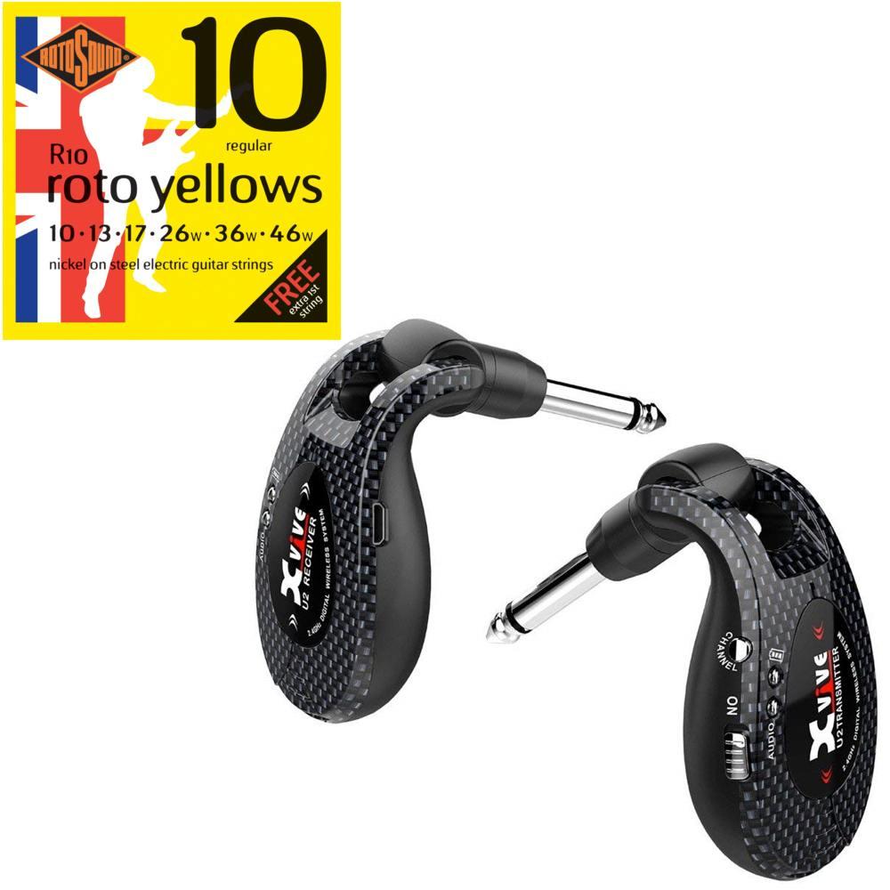 【特典付】【送料込】【限定モデル】Xvive エックスバイブ XV-U2/Carbon 2.4GHz デジタルワイヤレス・システム【smtb-TK】