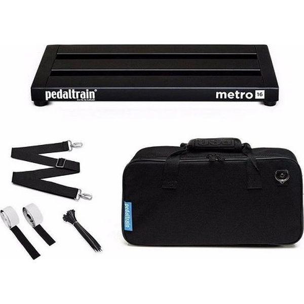 【送料込】Pedaltrain ペダルトレイン PT-M16-SC Metro 16 w/soft case エフェクターボード 【smtb-TK】