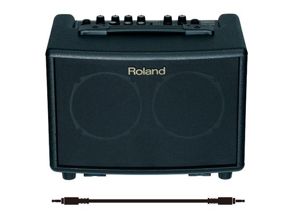【送料込】【接続ケーブル付】ローランド Roland AC-33 アコースティック専用ステレオアンプ【smtb-TK】