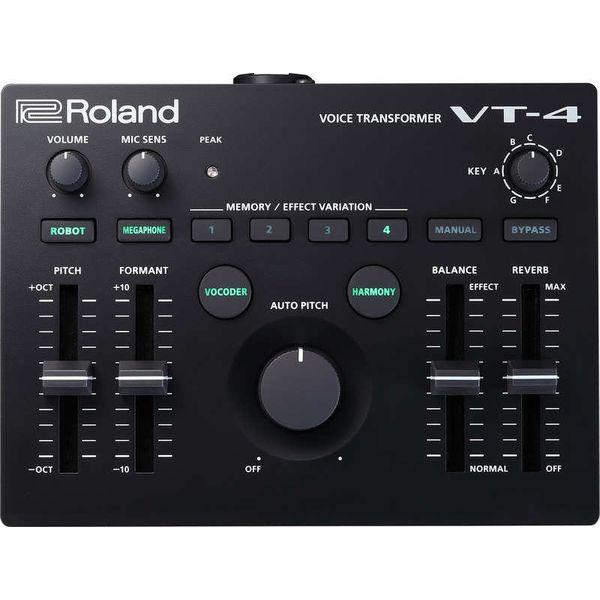 送料込 Roland ローランド AIRA VT-4 ボイス 宅配便送料無料 トランスフォーマー 大規模セール TRANSFORMER VOICE smtb-TK