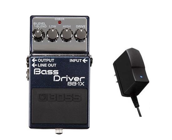 【送料込】【純正ACアダプター/PSA-100S2付】BOSS ボス BB-1X Bass Driver ベースドライバー【smtb-TK】