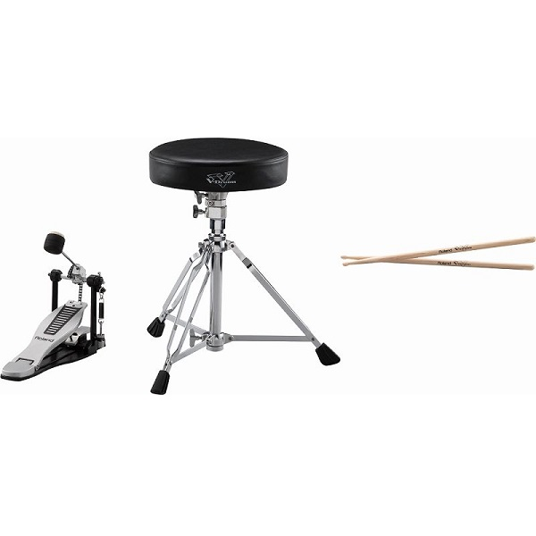 【送料込】Roland ローランド DAP-3X V-Drums用ペダル、スティック DAP-3X ローランド、イスセット【smtb-TK】, 宮崎市:179becf7 --- officewill.xsrv.jp