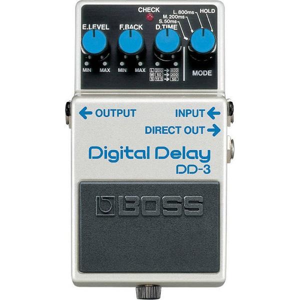 【送料込】BOSS ボス DD-3 本格機能が凝縮された、ロングセラー定番ディレイ Digital Delay【smtb-TK】