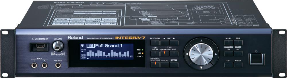 【ポイント10倍】【送料込】Roland/ローランド INTEGRA-7 SuperNATURAL Sound Module 音源モジュール【smtb-TK】