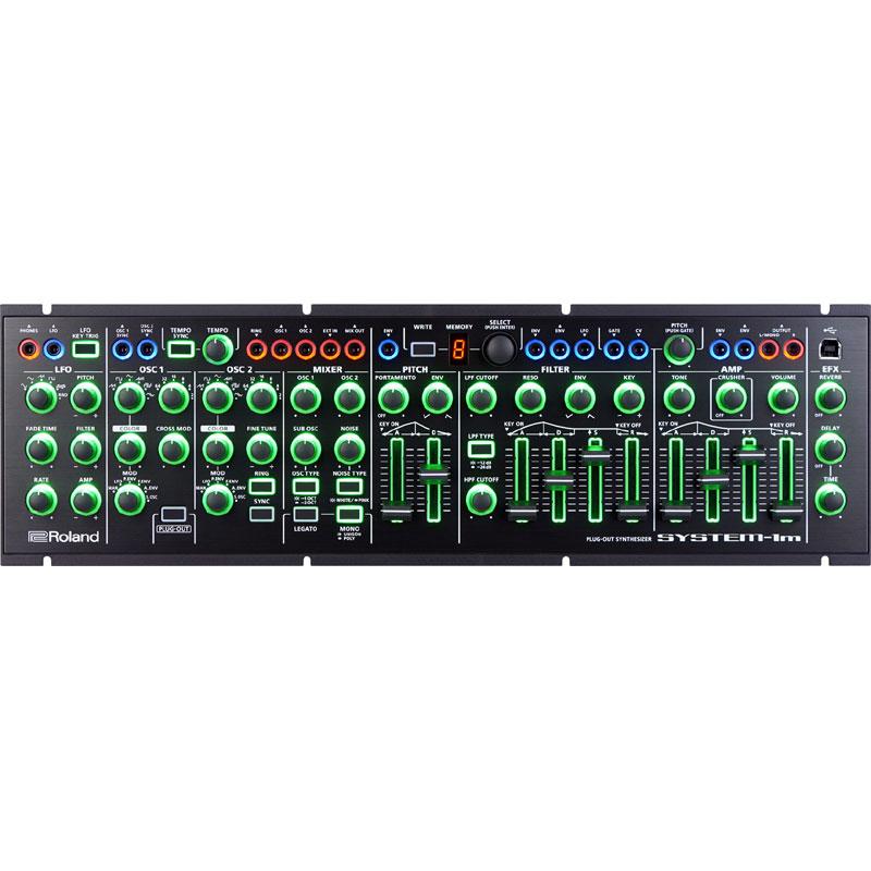 【送料込】Roland/ローランド AIRA SYSTEM-1m PLUG-OUT Synthesizer セミ・モジュラー・シンセサイザー【smtb-TK】