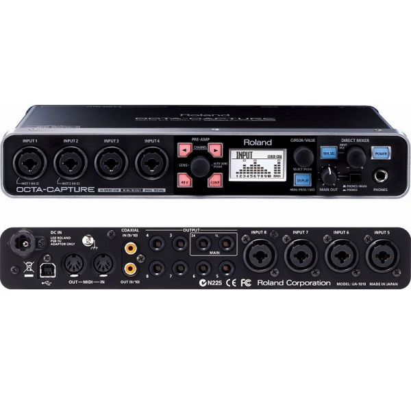【ポイント6倍】【送料込】Roland ローランド UA-1010 OCTA-CAPTURE 24-bit/192kHz Hi-SPEED USB Audio Interface【smtb-TK】