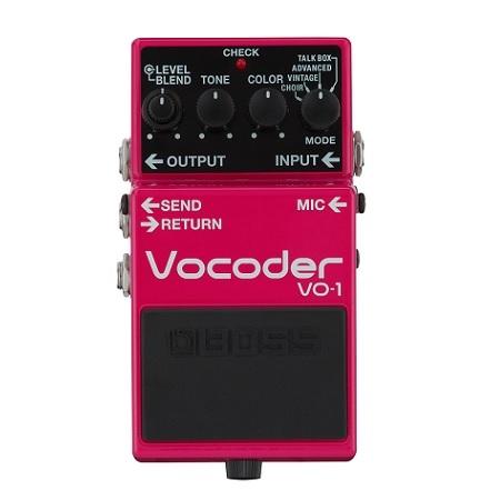 【送料込】BOSS ボス VO-1 Vocoder ボコーダー ギターとベースに新たな表現力を【smtb-TK】