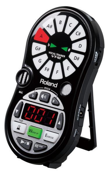 送料込 Roland ローランド VT-12-BK 価格 交渉 送料無料 Vocal 2020 ボーカル トレーナー Trainer smtb-TK