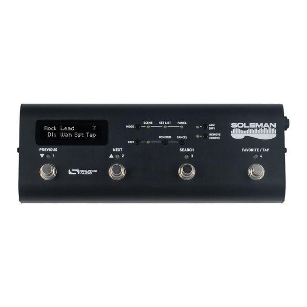 【送料込】SOURCE AUDIO SA165 SOLEMAN MIDI フットコントローラー 【smtb-TK】