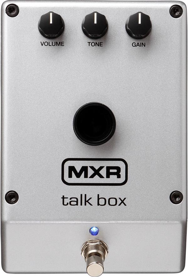 【国内正規品】MXR M222/M-222 Talk Box トーキング・モジュレーター/トーク・ボックス【安心の正規輸入品/メーカー保証付】
