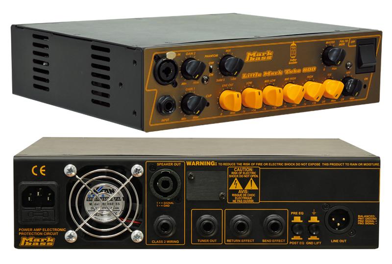 【送料込】マークベース Markbass Little Mark Tube 800(MAK-LMT800) ベースアンプヘッド 【smtb-TK】