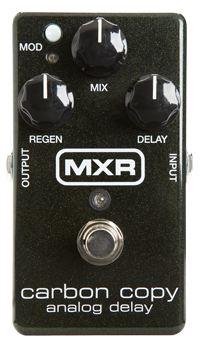 【国内正規品】MXR M169/M-169 Carbon Copy BBDによるアナログディレイ【安心の正規輸入品/メーカー保証付】