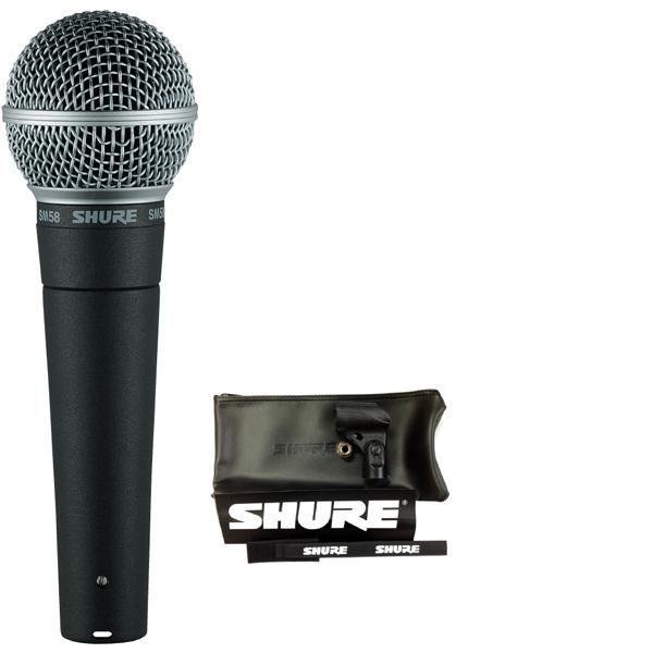 【送料込】【6点セット】SHURE/シュア SM58-LCE ボーカルマイク【正規品2年保証】【smtb-TK】