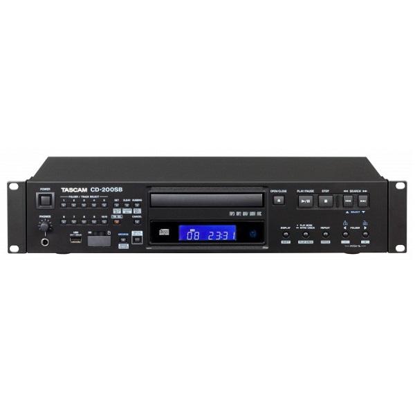 【送料込】TASCAM タスカム CD-200SB SD/SDHCカード USBメモリー対応 業務用CDプレーヤー【smtb-TK】