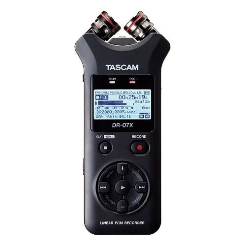 【送料込】TASCAM タスカム DR-07X ステレオオーディオレコーダー/USBオーディオインターフェース【smtb-TK】