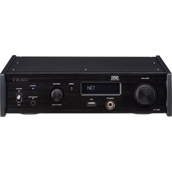 【送料込】TEAC ティアック NT-505-B USB DAC/ネットワークプレーヤー 【smtb-TK】