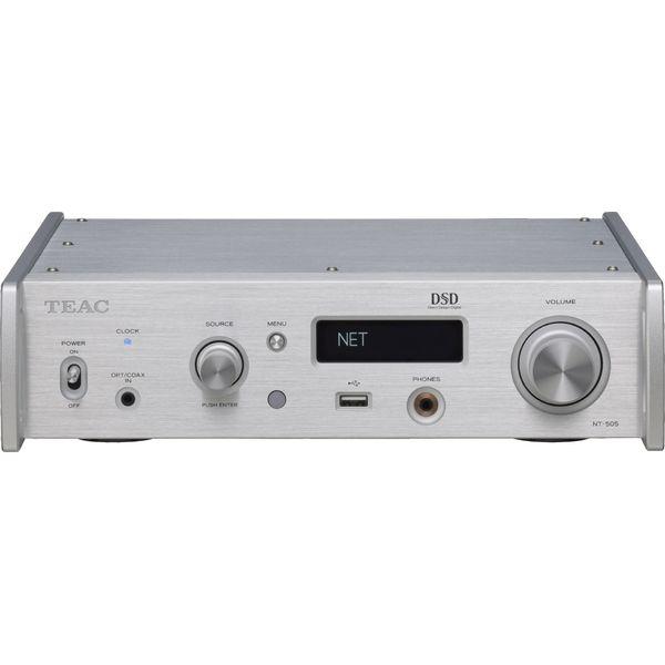 【送料込】TEAC ティアック NT-505-S USB DAC/ネットワークプレーヤー 【smtb-TK】