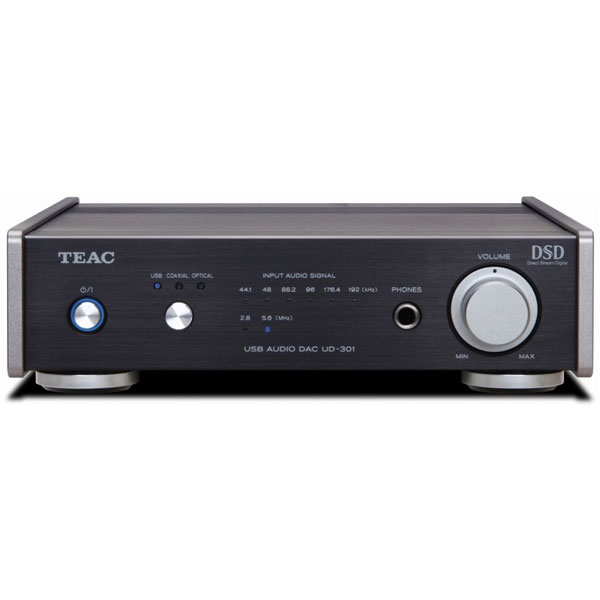 【送料込】TEAC/ティアック UD-301-SP/B USB デュアルモノーラル・D/Aコンバーター 【smtb-TK】