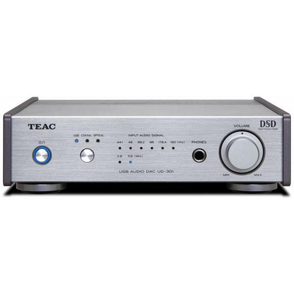【送料込】TEAC/ティアック UD-301-SP/S USB デュアルモノーラル・D/Aコンバーター 【smtb-TK】