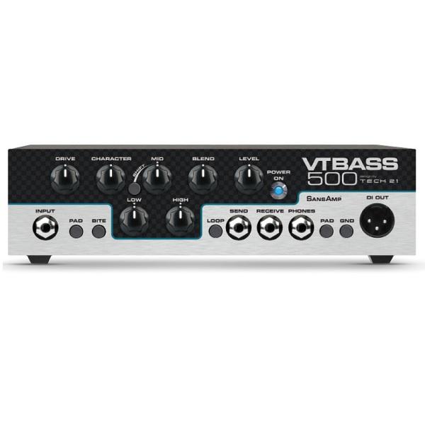 カウくる 【送料込】TECH21 500 Bass SansAmp VT SansAmp Bass 500 ベースアンプヘッド【smtb-TK】, オウメシ:488aad22 --- canoncity.azurewebsites.net
