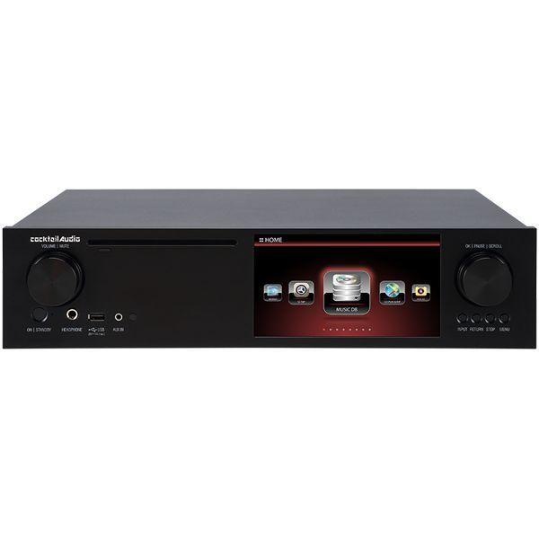 【ポイント3倍】【送料込】cocktail Audio カクテルオーディオ X35 ブラック アンプ内蔵 マルチメディアプレーヤー ネットワーク オーディオプレーヤー 【smtb-TK】