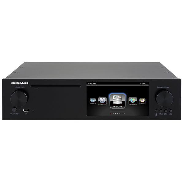 【送料込】cocktail Audio カクテルオーディオ X50D ブラック マルチメディアプレーヤー ネットワーク オーディオプレーヤー 【smtb-TK】