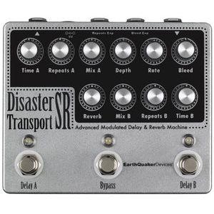 【送料込】EarthQuaker Devices Disaster Transport SR モジュレーションディレイ&リバーブ 【smtb-TK】