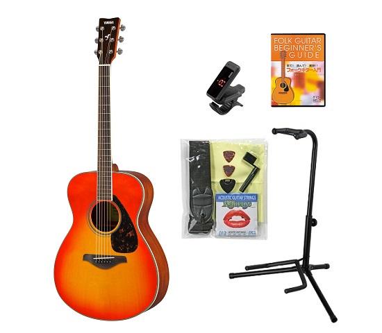 【送料込】【KORGクリップチューナー+教則DVD等付10点セット】YAMAHA ヤマハ FS820/AB オータムバースト アコースティックギター【smtb-TK】