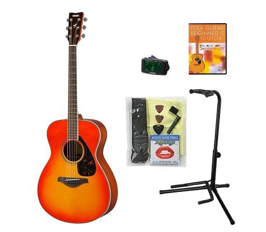 【送料込】【BOSSクリップチューナー+教則DVD等付10点セット】YAMAHA ヤマハ FS820/AB オータムバースト アコースティックギター【smtb-TK】