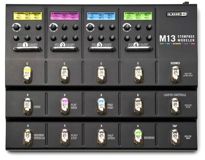 【送料込】LINE6/ラインシックス M13 Stompbox Modeler【smtb-TK】