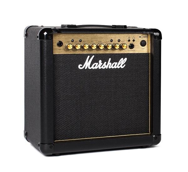 【限定Marshallピック2枚付】【送料込】Marshall マーシャル MG15FX Gold 正規輸入品【smtb-TK】
