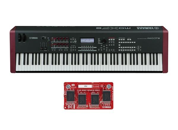 【送料込】【1GBフラッシュメモリーエクスパンションモジュール/FL1024M付】YAMAHA/ヤマハ MOXF8 MOTIFシリーズ10余年の歴史の結晶/音楽制作のためのシンセサイザー【smtb-TK】