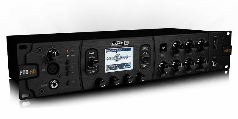 【送料込】LINE6/ラインシックス POD HD Pro X ラックマウント マルチエフェクター/アンプモデラー【smtb-TK】