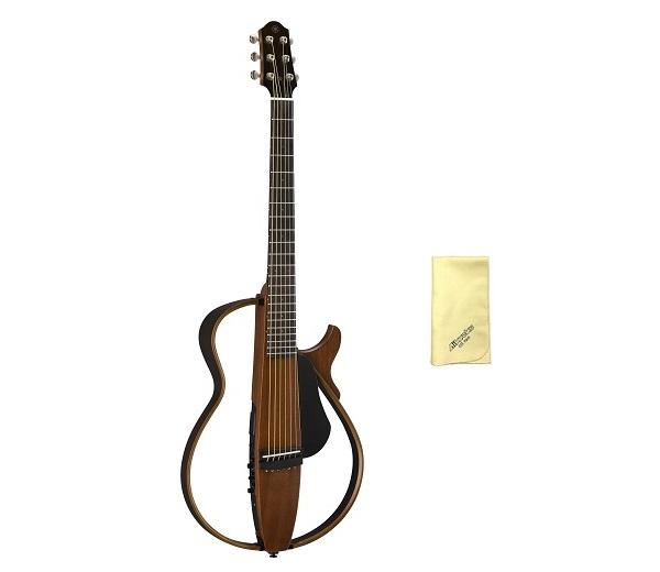 【送料込】【愛曲クロス付】【ソフトケース+インナーフォン付】YAMAHA/ヤマハ SLG200S/NT サイレントギター スチール弦モデル【smtb-TK】