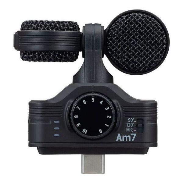 【送料込】ZOOM ズーム Am7 Androidデバイス用高音質ステレオマイク USB Type-C接続【smtb-TK】