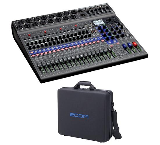 【送料込】【純正キャリングバッグ/CBL-20付】ZOOM ズーム LiveTrak L-20 20-Track Live Mixer / Recorder スリーピースも、大編成バンドも【smtb-TK】