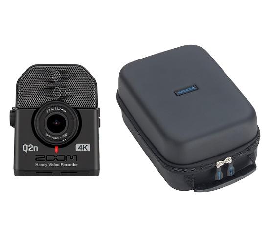 【送料込】【汎用型ソフトシェルケース/SCU-20付】ZOOM ズーム Q2n-4K ミュージシャンのための4Kカメラ Handy Video Recorder ハンディビデオレコーダー【smtb-TK】