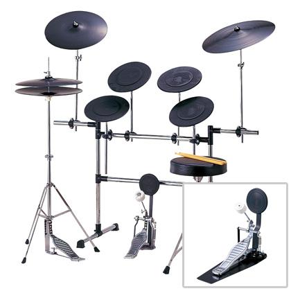 【送料込】Maxtone/マックストーン MX-568A&BD-786B(2バスセット) トレーニングドラムセット