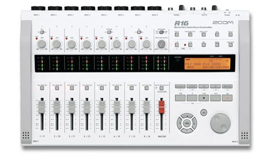 【送料込】ZOOM/ズーム R16 3in1モバイルスタジオ MTR/インターフェース/コントローラー【smtb-TK】