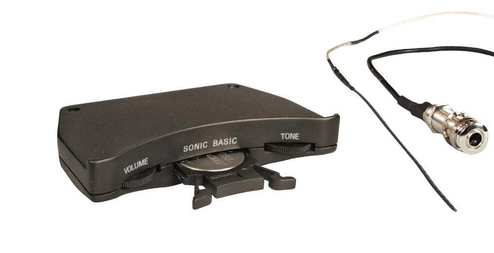 【送料込】Shadow/シャドウ Sonic Basic Soundhole Fitted Preamps /サウンドホール・フィッテッド・プリアンプ【smtb-TK】