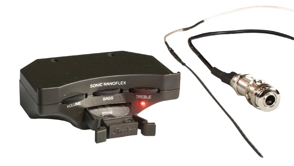【送料込】Shadow/シャドウ Sonic Nanoflex Soundhole Fitted Preamps /サウンドホール・フィッテッド・プリアンプ【smtb-TK】