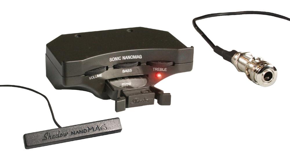 【送料込】Shadow/シャドウ Sonic Nanomag Soundhole Fitted Preamps /サウンドホール・フィッテッド・プリアンプ【smtb-TK】