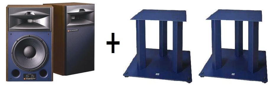 JBL 4429 (pair) set of speakers + stand + JS360 (pair)