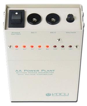 【送料込】VOCU/ヴォーキュ AA Power Plant Battery Power Distributer with Voltage Controller【smtb-TK】