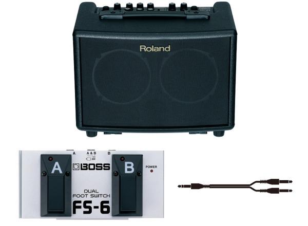 【送料込】【フットスイッチFS-6付】Roland/ローランド AC-33 アコースティックギター用 ステレオアンプ【smtb-TK】