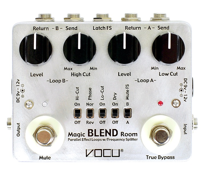 【送料込】VOCU/ヴォーキュ Magic BLEND Room Spec.B Parallel Effect Loops with Frequency Splitter【smtb-TK】