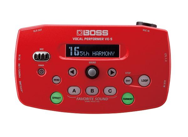 【送料込】BOSS/ボス VE-5-RD 簡単操作/多彩なボーカル向けエフェクト/Roland/ローランド【smtb-TK】