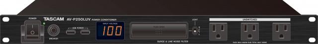 【ポイント5倍】【送料込】TASCAM/タスカム AV-P250LUV パワーディストリビューター【smtb-TK】