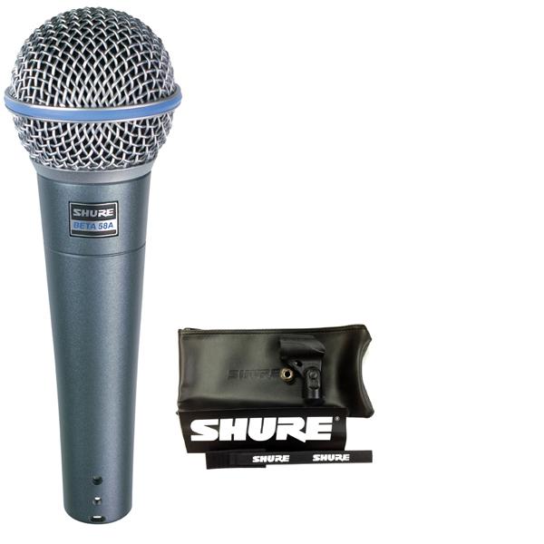 【送料込】【6点セット】SHURE/シュアー Beta 58A ボーカルマイク【正規品2年保証】【smtb-TK】