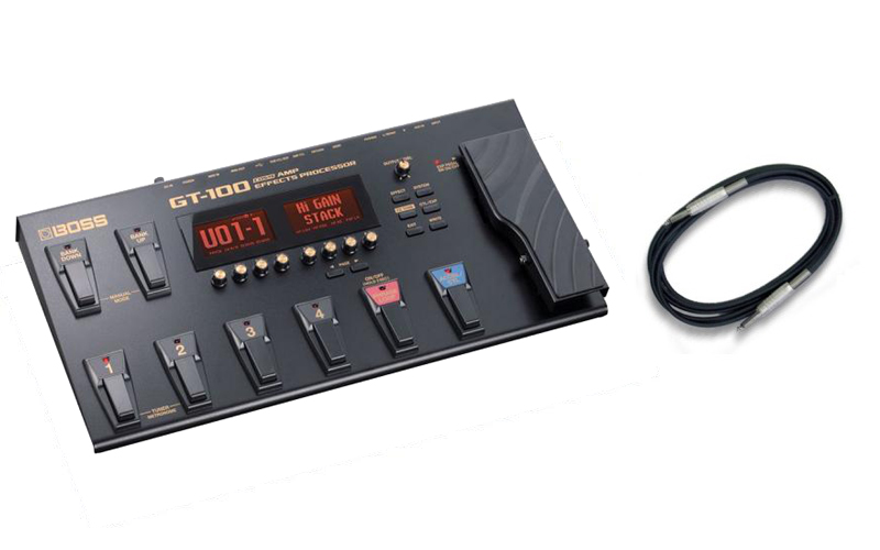 【送料込】【CANAREシールド付】BOSS/ボス GT-100 Version2.0 COSM Amp Effects ProcessorBOSSフロア・マルチ・シリーズ/フラッグシップ・モデル【smtb-TK】